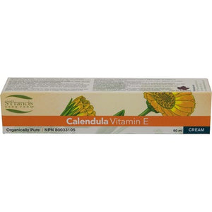 St. Francis Herb Farm Calendula Cream with Vitamin E