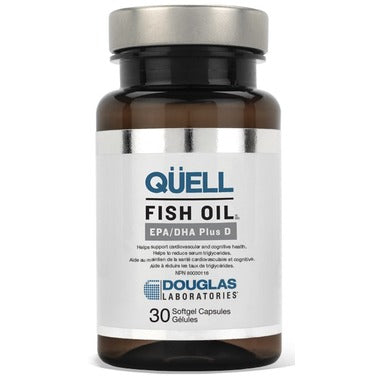 Douglas Laboratories QUELL Fish Oil EPA/DHA Plus D  30 softgels