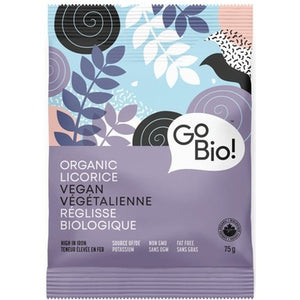 GoBio Organic Vegan Licorice