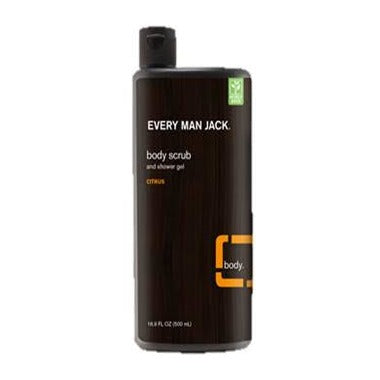 Every Man Jack Body Scrub Citrus