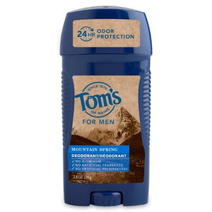 Tom's Of Maine Long-Lasting Mountain Spring Men's Deodorant