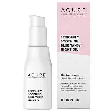 Acure Seriously Soothing Blue Tansy Night Oil  30 mL