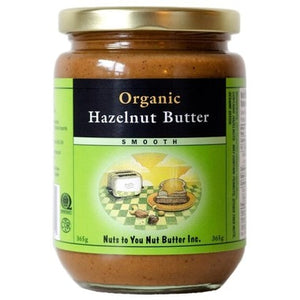 Nuts To You Organic Hazelnut Butter Smooth