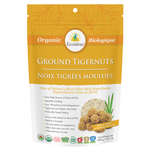 Ecoideas Organic Stone Ground Tigernuts 400g