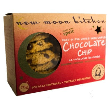 New Moon Kitchen Chocolate Chip Cookies 275 g