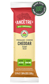 L'ancetre cheese, Organic cheddar, Old