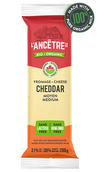 L'ancetre cheese, Organic Cheddar, Medium