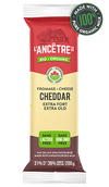 L'ancetre cheese, Organic cheddar, Extra Old