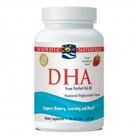 Nordic Naturals DHA Strawberry 90 Softgels