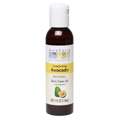 Aura Cacia Avocado Natural Skin Care Oil  118 mL