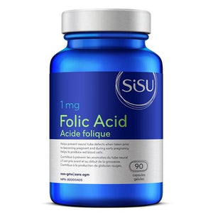 SISU Women's Folic Acid 1mg
