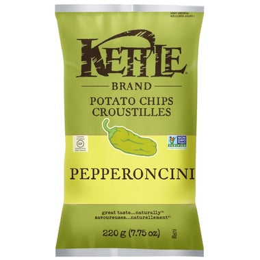 Kettle Pepperoncini Potato Chips 220g