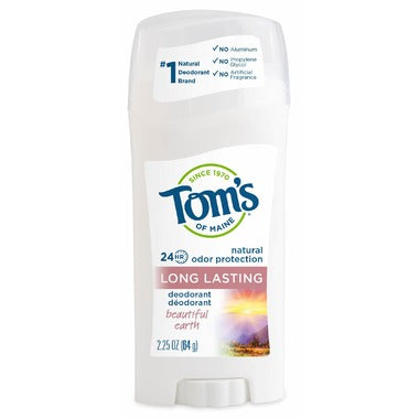 Tom's Of Maine Long-Lasting Beautiful Earth Deodorant