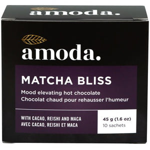 Amoda Matcha Bliss Mood Elevating Hot Chocolate