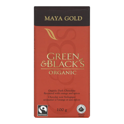 Green & Black's Organic - Maya Gold, 100g