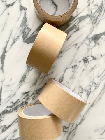 100% Compostable Kraft paper packing tape