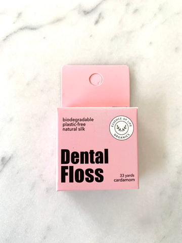 Biodegradable Zero Waste Silk Floss, cardamom