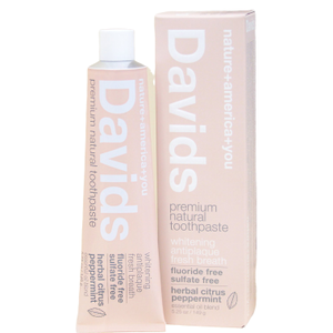 Davids Premium Natural Toothpaste,  herbal citrus  149g