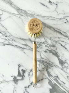 Reusable Dish Brush with a 100% compostable head