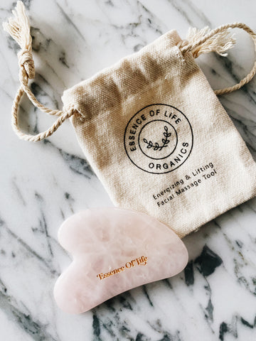 Gua Sha Tool, Rose Quartz