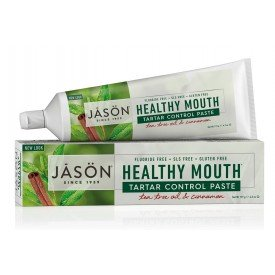 Jason Healthy Mouth® Tartar Control Paste Tea Tree Oil & Cinnamon 119g