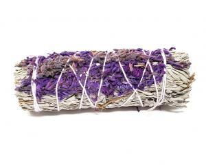 Sage and Lavender Smudge 4 inch