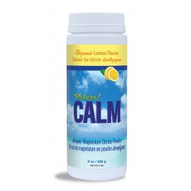 Natural Calm Magnesium Citrate Powder Lemon