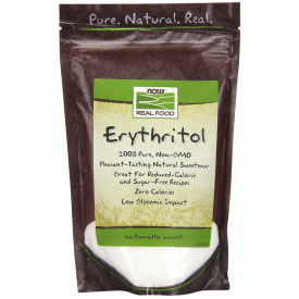 NOW Erythritol Natural Sweetener 454g