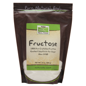 NOW Fructose Fruit Sugar 680g