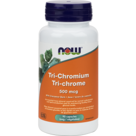 NOW Tri-Chromium 500mg 90 Veggie Caps