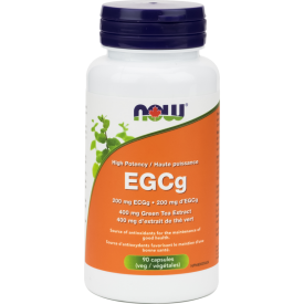 NOW EGCg Green Tea Extract 400mg 90 Veggie Caps