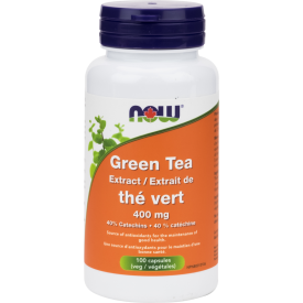 NOW Green Tea Extract 100 Veggie Capsules