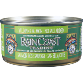 Rain Coast Pink Salmon No Salt 160g