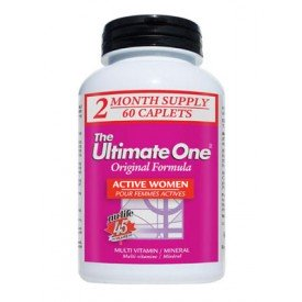 Nu-Life The Ultimate One Active Women Multivitamin 60 Caplets