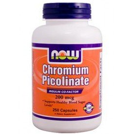 NOW Chromium Picolinate 250 Capsules