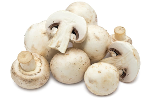 Organic White Mushrooms (8oz)