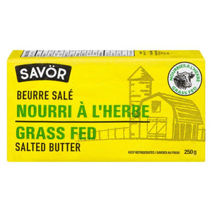 Savor - Grass Fed Salted Butter