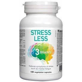 3 Brains Stress Less 120 vcaps