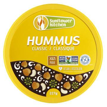 Sunflower Kitchen Classic Hummus - 227g