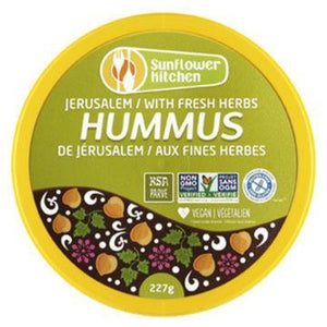 Sunflower Kitchen, Jerusalem Hummus with Fresh Herbs (227g)