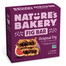 Nature's Bakery Fig Bar Real Fruit & Whole Grain 6 Pack