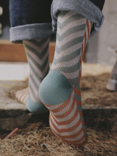 Striped Casual Socks