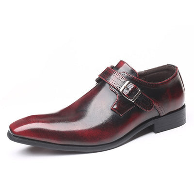 Men Non-slip Large Size Leather Formal Shoes