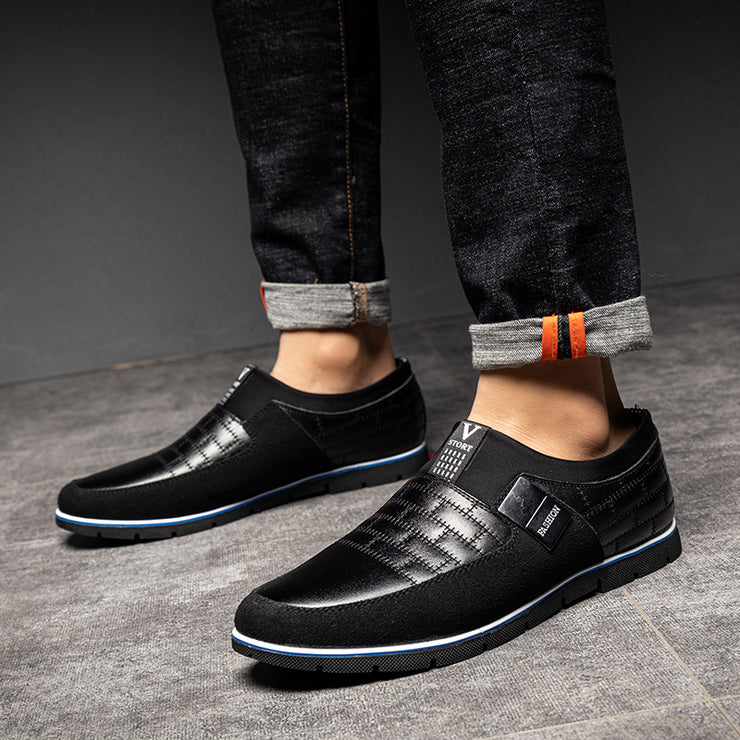 Split Joint All Season Suede Casual Shoes