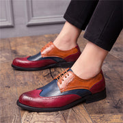 All Season Split Joint Leather Formal Shoes