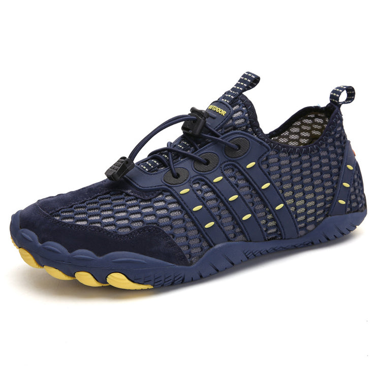 Large Size Men Honeycomb Mesh Fabric Slip Resistant Water Shoes
