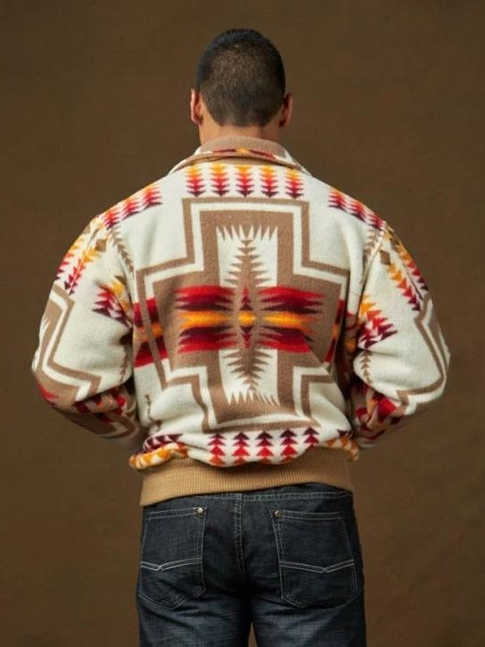 Polar Fleece Tribal Vintage Jackets