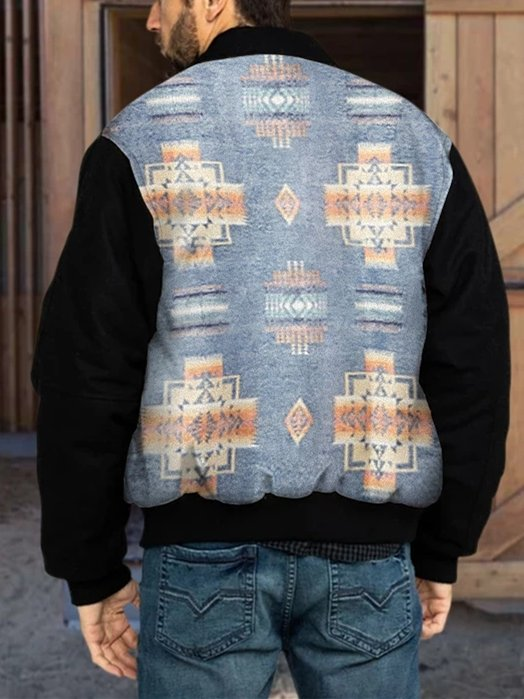 Tribal Vintage Paneled Jackets