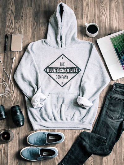 Gray Cotton Casual Sweatshirt
