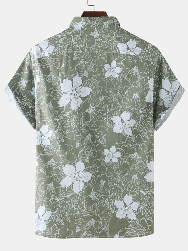 As Picture Casual Printed Shirts & Tops